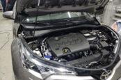 Снятие аккумулятора Toyota C-HR