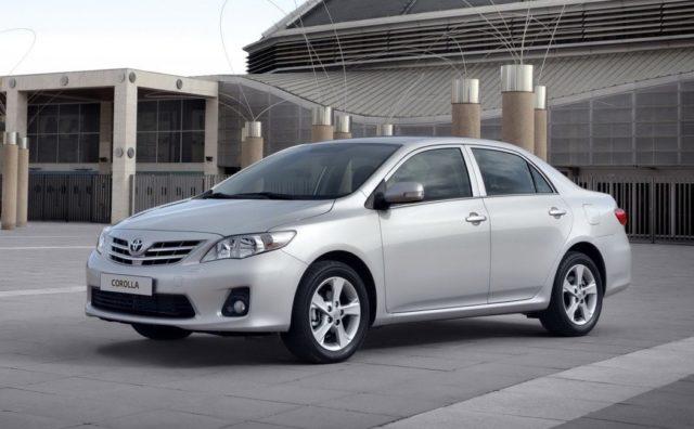 Клиренс Toyota Corolla