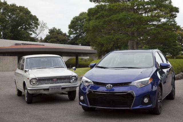 Как менялась Toyota Corolla от поколения к поколению