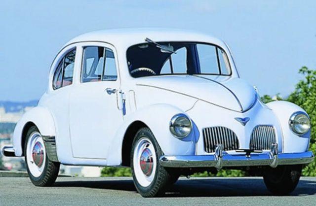 Первая послевоенная Toyota — двухдверный седан SA 1947 года