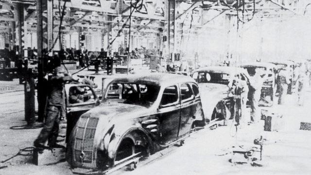 Сборочный цех Toyota