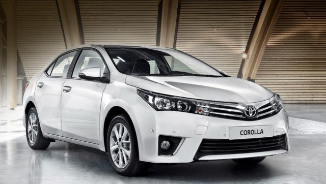 Toyota Corolla 11 поколения