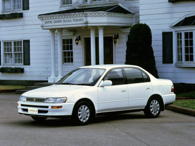 Toyota Corolla 7 поколения