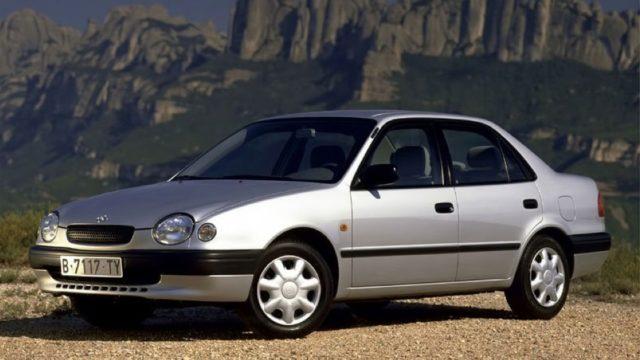 Toyota Corolla 8 поколения