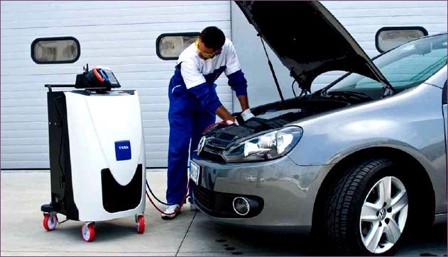 Основные рекомендации по заправке автомобильных кондиционеров