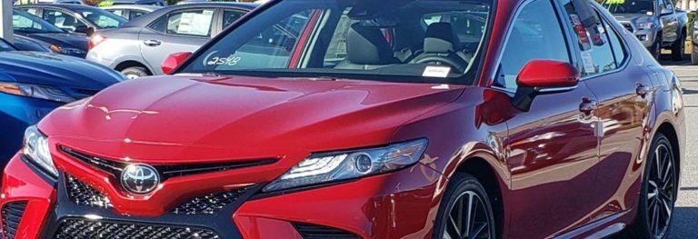 Расход топлива Toyota Camry