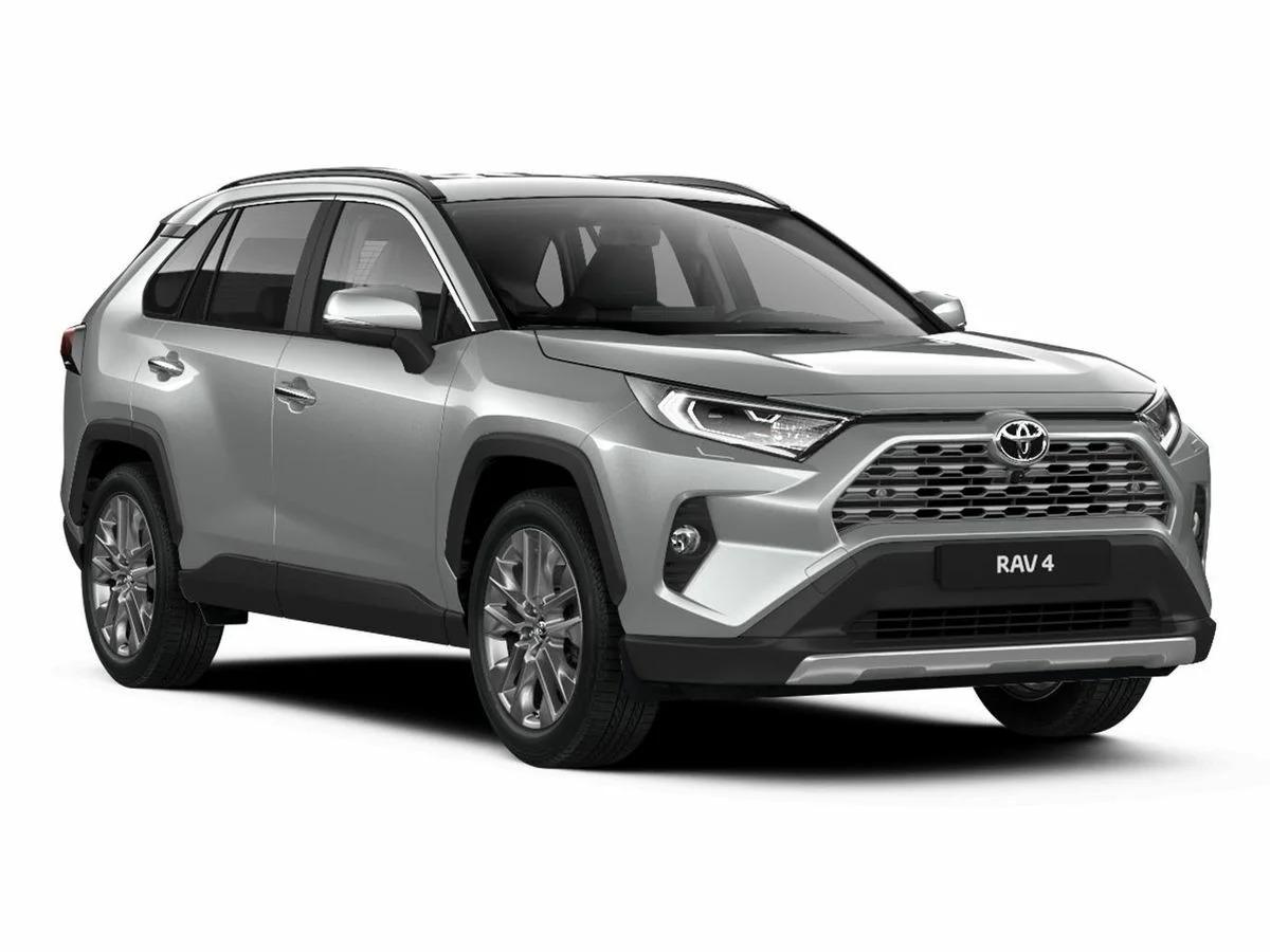 Новый кузов RAV4 2021 года