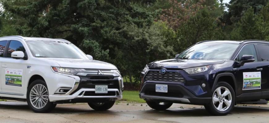 Сравнение автомобилей Rav4 и Outlander
