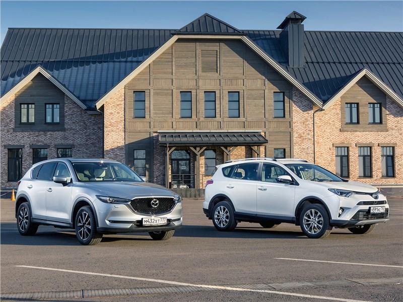 Сравнение автомобилей Rav4 и Mazda cx-5