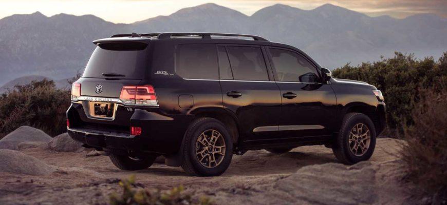 Toyota Land Cruiser и горы
