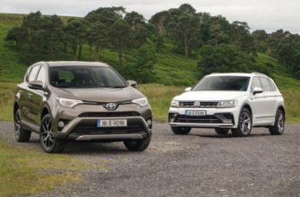 Сравнение автомобилей Rav4 и Tiguan