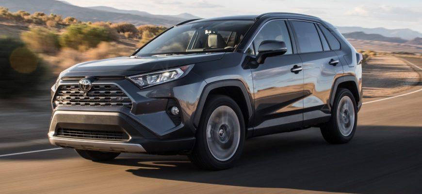 Когда в России выйдет Toyota Rav4 2022 года