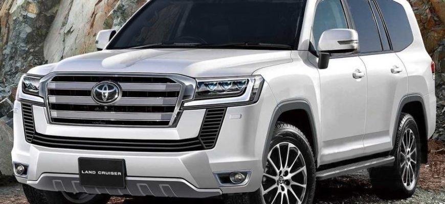 Новый кузов Тойота Ленд Крузер 2021 года